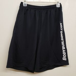 Shorts - Black Men's Basketball Shorts w/ Pockets